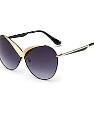 Sunglasses Women's Modern / Fashion Oversized Silver / Gold Sunglasses Full-Rim