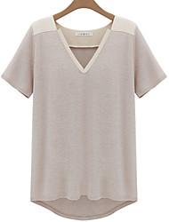 Women's Patchwork Blouse(cotton)