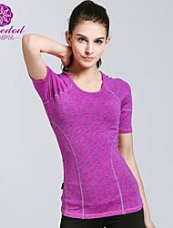 SMOEDOD ® Yoga Kleding Bovenlichaam Ademend / Antistatisch / wicking / Compressie Rekbaar SportkledingYoga / Pilates / Fitness /