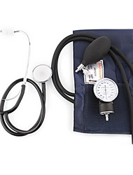 Professional Medical Aneroid Blood Pressure Measure Monitor Kit Cuff Stethoscope