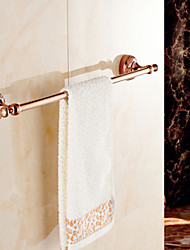 Towel Bar , Neoclassical Rose Gold Wall Mounted