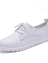 Women's Shoes Calf Hair Platform Platform / Creepers Flats / Fashion Sneakers / Athletic Shoes Office & Career