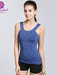 SMOEDOD ® Yoga Tops Breathable / Antistatic / Wicking / Sports Wear Yoga / Pilates / Fitness / Running Women's 2-10