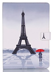 Special Design Embossed Graphic PU Leather Full Body Cases for iPad mini 4