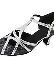 Customized Women's Modern Shoes Customized Heel Closed Toe Dance Shoes for Women