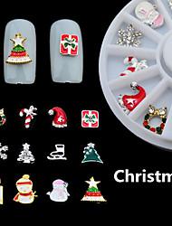 Encantador - Dedo - Calcomanías de Uñas 3D / Joyas de Uñas - Metal - 1box - 6CM - ( cm )