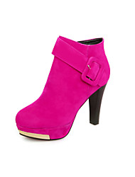 Women's  Cone Heel Round Toe / Closed Toe Boots