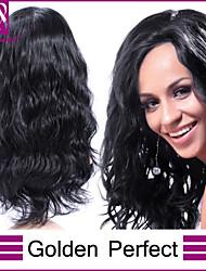 en stock 14-30inch vague de corps avec des cheveux de bébé pleine dentelle perruques brésiliennes de cheveux de vierge de 100% pour les