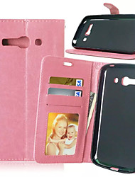 High Quality PU leather Wallet Mobile Phone Holster Case For Alcatel C9(Assorted Color)