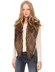 Women's Fashion Faux Fur  Warmth Shawl