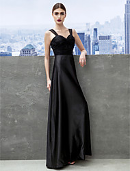 TS Couture® Formal Evening / Black Tie Gala Dress Sheath / Column Sweetheart Floor-length Satin / Tulle with Ruching