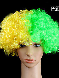 Colorful Clown Curly Beautiful Wig Halloween Party Wig Fashion Cosplay Wig