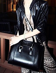 Women's Retro Crocodile Pattern Single Hand Bag