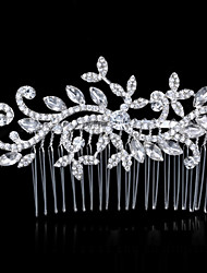 Europe And The United States The Bride Headdress Diamond Alloy Comb