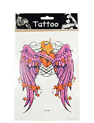10/PCS New  waterproof temporary  wings tattoos sexy body art removable colorful tattoos WST-38
