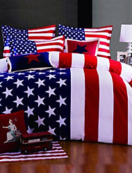 America Flag Duvet Cover Set Bedding Set Queen King Size