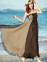 Damen Röcke  -  Strand Maxi Chiffon Mikro-elastisch