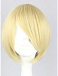 anime Lattich-Perücke der Han-Ausgabe rasieren blonde Perücke