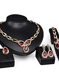 Vintage / Niedlich / Party / Büro - Damen - Halskette / Ohrring / Armband / Ring ( Legierung / Vergoldet )
