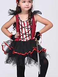 Vestido Chica de - Todas las Temporadas - Licra / Malla - Rojo