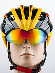 Promend® Adjustment Road Cycling Mountain Ultralight Bike  Helmentwith Retractable  Polarized  Lens Integrally Molded