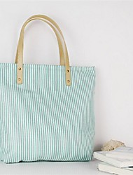 Women Canvas Weekend Bag Tote - Green