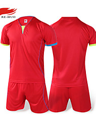 Men's Short Sleeve Soccer Clothing Sets/Suits Breathable Football