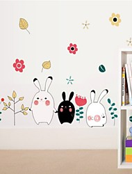 Tiere / Cartoon Design Wand-Sticker Flugzeug-Wand Sticker , PVC 50*5*5