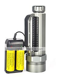 Светодиодные фонари LED 3 Режим 8000 ЛюменВодонепроницаемый / Перезаряжаемый / Ударопрочный / ударный корпус / Тактический / Экстренная