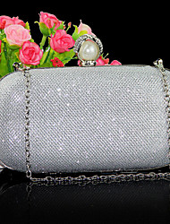 Women Satin Evening Bag Gold / Red / Silver / Gray / Black