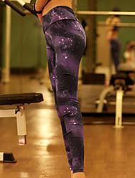 Yoga Pants Underdelar / Byxa / Cykling Tights / Leggings Andningsfunktion / Stretch / Mjuk Hög Stretch Fotbollströjor Dam AnnatYoga /