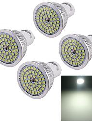 7W GU10 Faretti LED A50 48 SMD 2835 600 lm Luce fredda Decorativo AC 100-240 V 4 pezzi