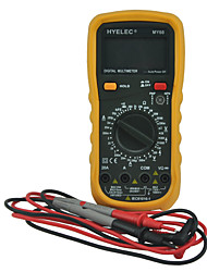 HYELEC MY60 Digital Multimeter AC/DC Voltage Current Resistance Tester Professional Multimetro Ammeter Multitester