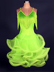 Devrions-nous des robes de danse en latin Femmes Performance