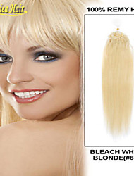 Top Quality Micro Rings Hair Extension Natural Straight 1.0 Gram Per Strand 100 Strands Per Pack Human Hair Extension