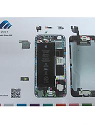 Магнитное винт коврик техник по ремонту площадку руководство для Iphone 6