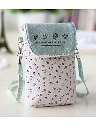 Women Canvas Casual / Outdoor Mobile Phone Bag