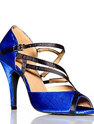 Женская обувь - Кожа - Номера Настраиваемый ( Синий ) - Латино