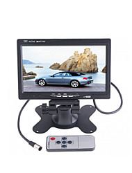 "DearRoad 7"" Color TFT LCD Car Rearview Monitor Display 12-24V for DVD Camera VCR"
