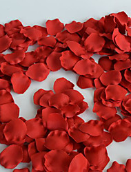 High-End Wedding Simulation Rose Petals Polyester Petals Artificial Flowers 100PCS