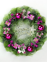 Personalized Christmas Wreath Hanging Door Decoration-2