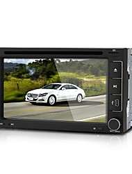 "6.2"" Car DVD Player Stereo In-Dash 2 DIN GPS SD Europe Map for iPod for iPhone"