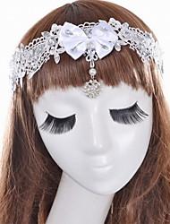 Women's Satin / Lace / Acrylic Headpiece - Wedding / Special Occasion Headbands