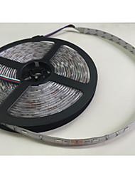 ZDM ™ водонепроницаемый 5m 300pcs высокой яркости SMD5050 привело 20 клавиш семь звуковых цвета привело дистанционного управления RGB полосы IP67