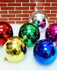 (Christmas) Bright Light Plating Christmas Call 5cm (Set of 12 Random Distribution)