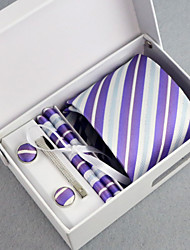 Men's Business Tie 5 Pieces a Set with Box