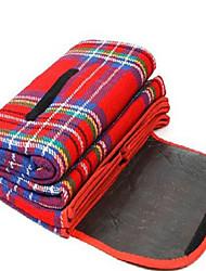 Almofada de Piquenique ( Verde / Vermelho / Azul ) - Algodão - Á Prova de Humidade
