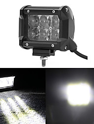 Osram Fish Eyes 4 Inch 30W Offroad Flood Beam LED Light Bar For Trailer 4X4 4WD ATV SUV Car Auto Driving Flog