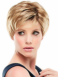 Latest Fashion Virgin Remy Human Hair Hand Tied -Top Short  Straight Woman's Wig