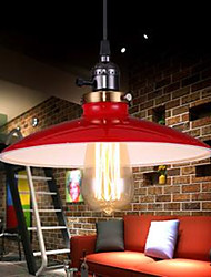 American Industrial Cafe Bars Attic LOFT Style Study UFO Droplight